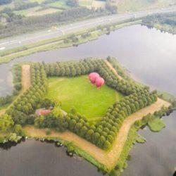 ballonvaren vanaf de Petterlaar Den Bosch
